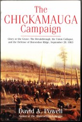 The Chickamauga Campaign: Glory of the Grave