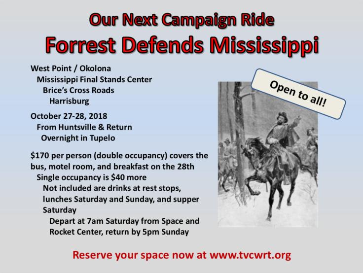 Campaign Ride 2018